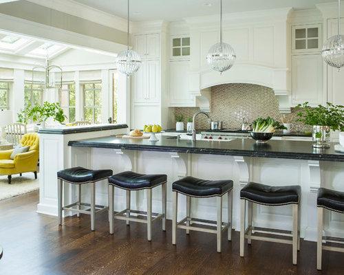 8x8 open plan kitchen design ideas renovations photos for 8x8 galley kitchen layout