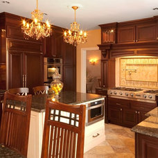 Traditional Kitchen by Debbi Washburn/Pro-Build Mahopac