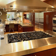 Contemporary Kitchen by Edict Inc.