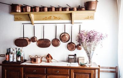 Det moderne køkken: Rustikt og til for at blive brugt
