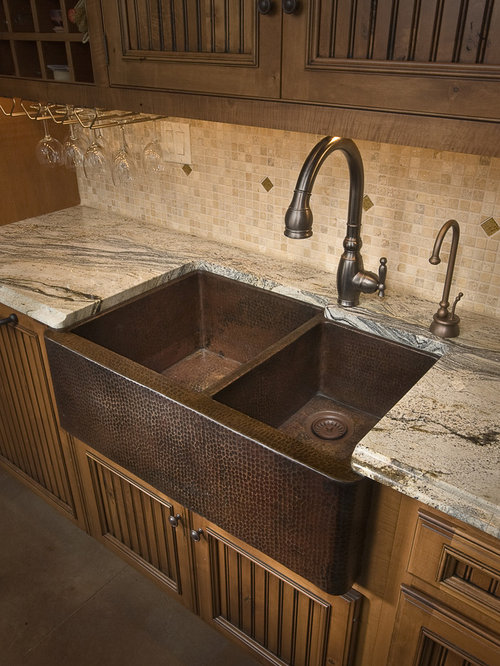 copper farm sinks for kitchens copper kitchen sink home design ideas pictures remodel 8335