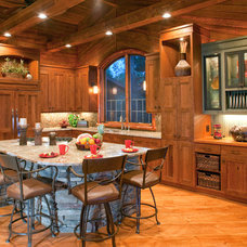 Rustic Kitchen by Crystal Kitchen Center