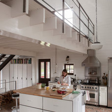 Rustic Kitchen by Jean Longpré