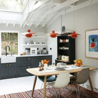 Удачное сочетание для дизайна помещения: кухня в стиле ретро - самое интересное для вас