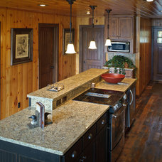 Rustic Kitchen by Bercher Design & Construction