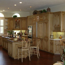 Traditional Kitchen by More Than Murals