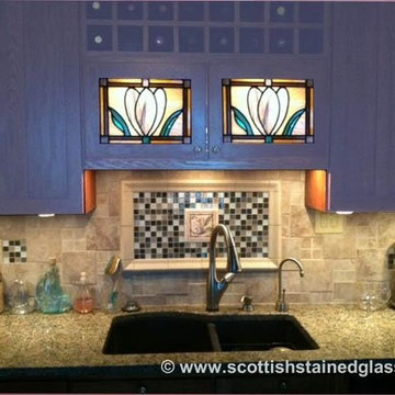 Cabinet Stained Glass