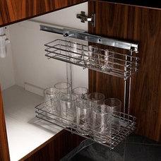 Contemporary Kitchen by Clark & Barlow Decorative Hardware