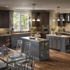 Eclectic Kitchen Cabinetry by Blue Ridge Cabinetry