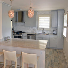 Transitional Kitchen by Jefferson Door Co.