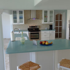 Tropical Kitchen by Crown and Trim by Design