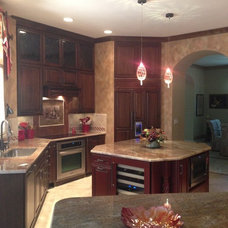 Transitional Kitchen by Micheline Laberge, ASID, LLC