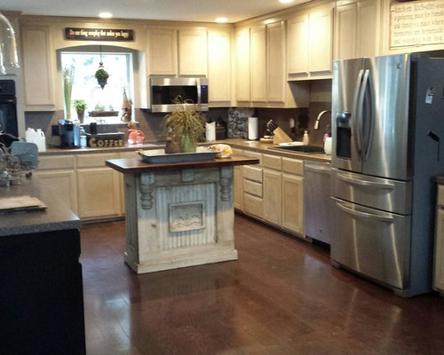 Repainted Kitchen Cabinet Ideas, Pictures, Remodel and Decor