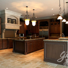 Traditional Kitchen by Cabinets by Graber