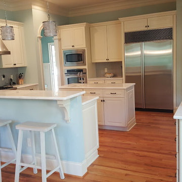 Cabinets Painted White
