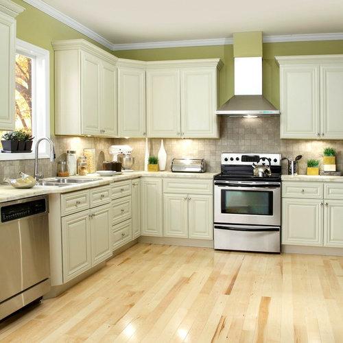 Ivory Glazed Kitchen Cabinets: Ivory Kitchen Cabinets