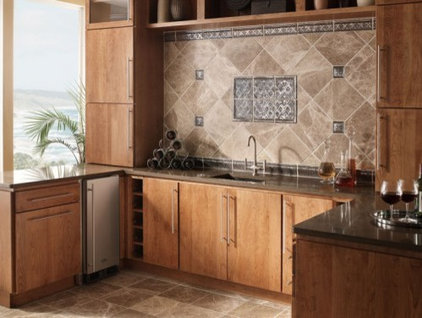 Asian Kitchen Cabnet and Granite counter