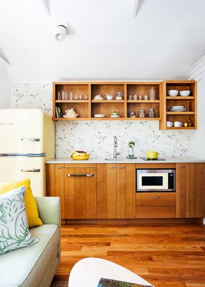 Coastal Kitchen by Tyler Karu Design + Interiors
