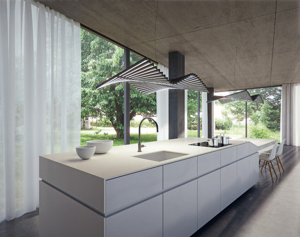 Beau Contemporary Kitchen By Caesarstone Australia