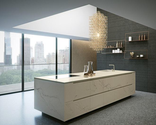 Modern Kitchen by Caesarstone Australia