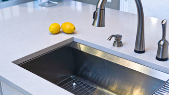 Caesarstone Misty Carrera Kitchen Countertop