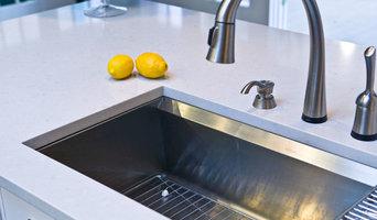 Caesarstone Misty Carrera Kitchen Countertop