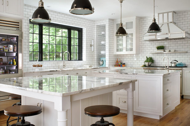 Transitional Kitchen by Griffin Designs