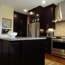 Contemporary Kitchen by Acworth Cabinet, Inc