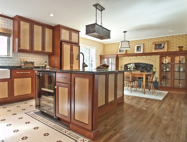 Rustic Kitchen by Cameo Kitchens, Inc.