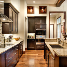 Transitional Kitchen by FrazierFoto