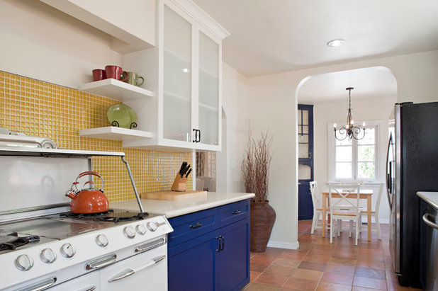 Eclectic Kitchen by Caisson Studios