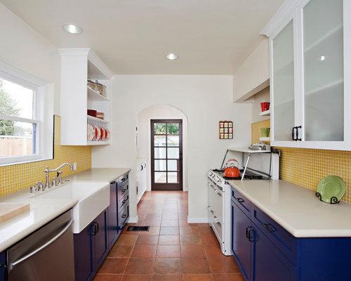 Kitchen Backsplash Yellow
