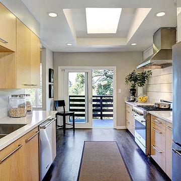 Cal Modern Ranch Kitchen