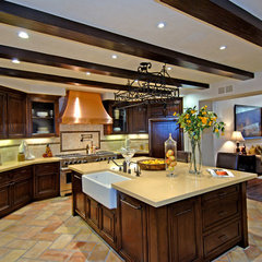 mediterranean kitchen by Joni Koenig Interiors