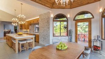 Calabasas Teak Wood Kitchen