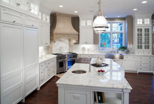 Mediterranean Kitchen by Addition Building & Design, Inc.