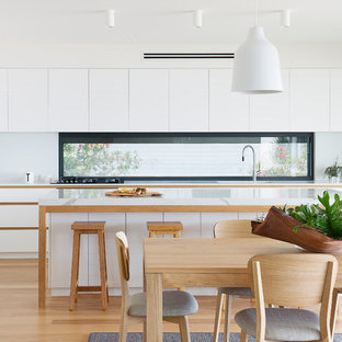 Calacatta Blanco is the Kitchen Centrepiece in a Northern Beaches Family Home