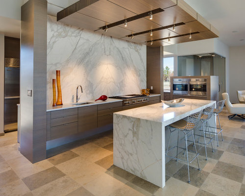 pictures of backsplash in kitchens calacatta gold marble houzz 7439