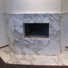 Mediterranean Kitchen by Stockett Tile & Granite Company