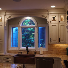 Traditional Kitchen by Lanfords Custom Cabinets