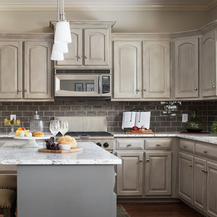 Taupe Subway Tile Kitchen Ideas & Photos | Houzz