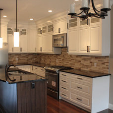Traditional Kitchen by One Tree Construction Inc