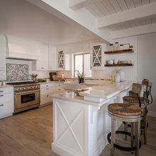Farmhouse & Cape Cod Beach Houses by Maraya Interior Desig