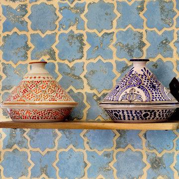 California Desert Moroccan Home