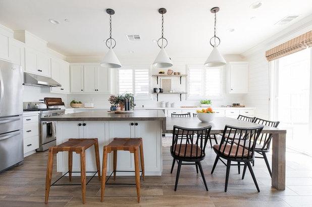 Beach Style Kitchen by Design Shop Interiors