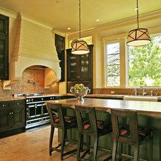 Mediterranean Kitchen by Jane Antonacci Interior Design