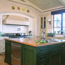 Mediterranean Kitchen by mark cutler