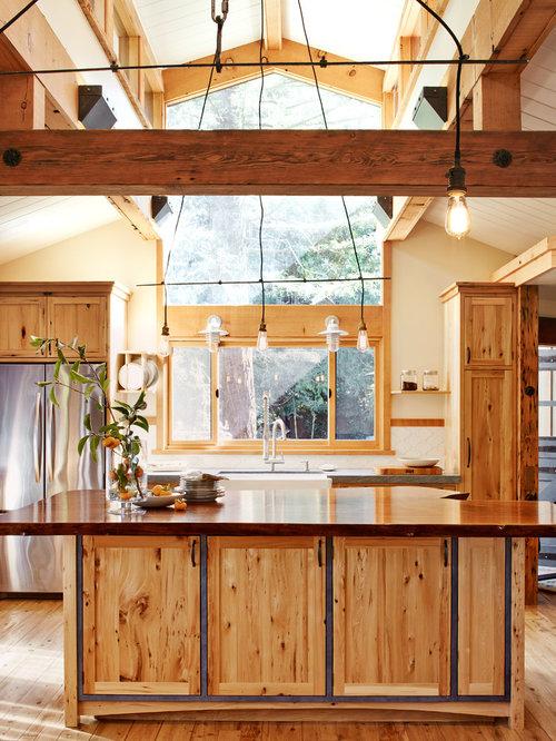 White Farmhouse Kitchen Countertops