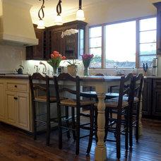 Traditional Kitchen by Lisa Joyce Design