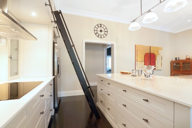 Transitional Kitchen by Inside Out Colour and Design